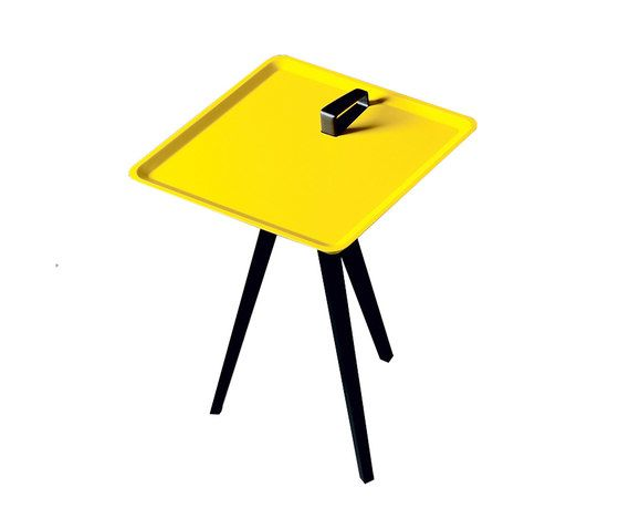 miniforms,Coffee & Side Tables,end table,furniture,table,yellow