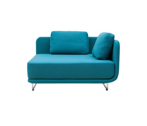 Softline A/S,Seating,aqua,blue,chair,couch,furniture,loveseat,sofa bed,studio couch,teal,turquoise