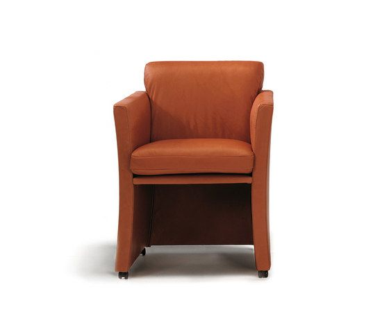 Durlet,Office Chairs,chair,club chair,furniture,leather,orange,tan