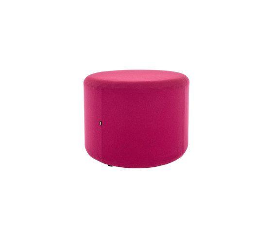 Loook Industries,Footstools,cylinder,magenta,pink,purple,stool,violet