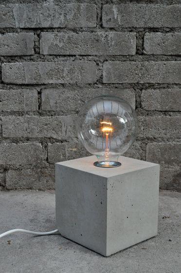 lichtprojekte,Table Lamps,concrete