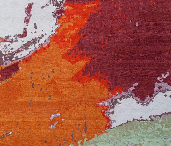 Living Divani,Rugs,geological phenomenon,orange,painting,red,wall,yellow