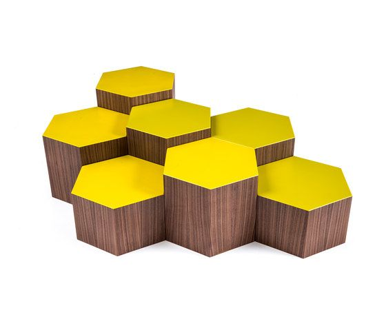 Bross,Coffee & Side Tables,yellow