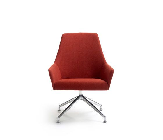 Arco,Office Chairs,chair,furniture,orange,red