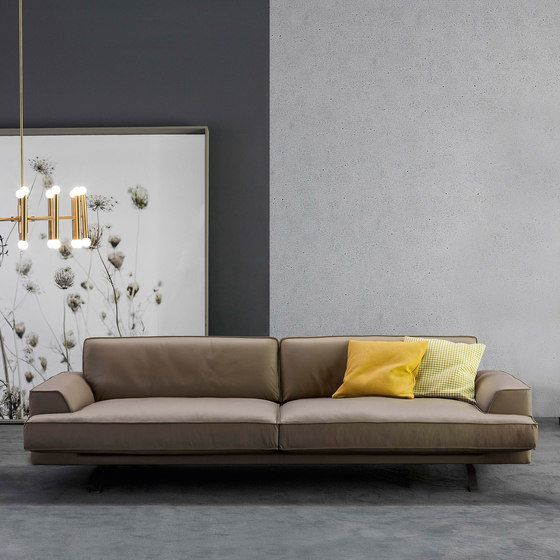 Bonaldo,Sofas,couch,floor,furniture,interior design,living room,room,sofa bed,studio couch,wall,yellow