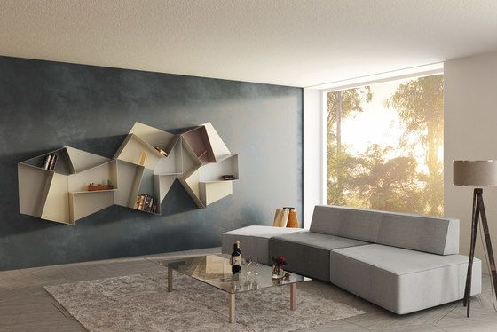 LAGO,Bookcases & Shelves,architecture,couch,design,floor,furniture,house,interior design,living room,property,room,table,wall