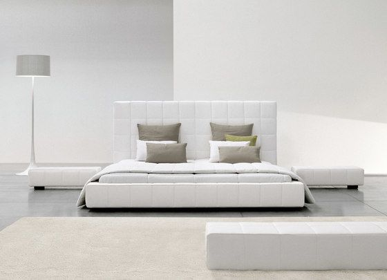 Bonaldo,Beds,bed,bedroom,couch,floor,furniture,interior design,room,sofa bed,table,white