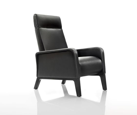 Wittmann,Seating,black,chair,furniture,leather