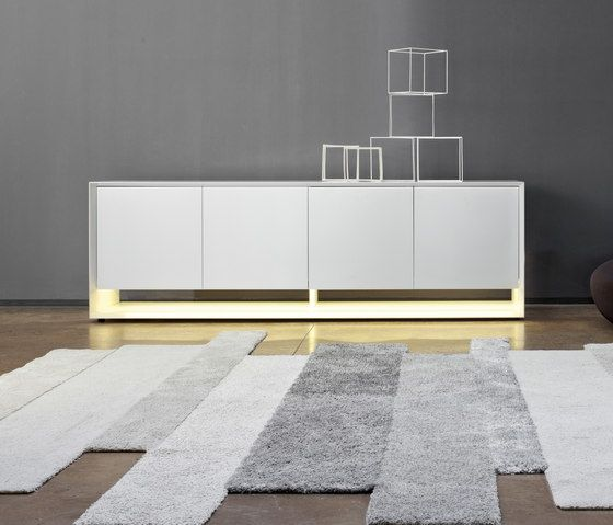 Bonaldo,Cabinets & Sideboards,architecture,floor,flooring,furniture,interior design,line,living room,material property,product,rectangle,room,sideboard,table,tile,wall,white