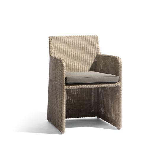 Manutti,Dining Chairs,armrest,beige,chair,furniture,wicker