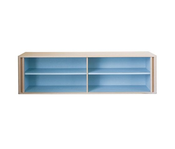 BassamFellows,Cabinets & Sideboards,bookcase,furniture,rectangle,shelf,shelving,sideboard,turquoise