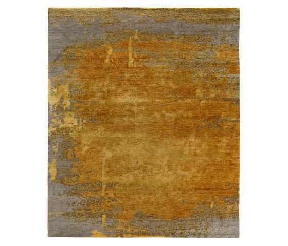 REUBER HENNING,Rugs,beige,brown,orange,yellow