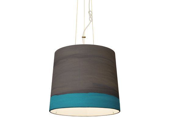 mammalampa,Pendant Lights,ceiling,ceiling fixture,cylinder,light fixture,lighting,teal,turquoise