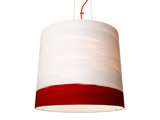 mammalampa,Pendant Lights,ceiling,ceiling fixture,cylinder,lamp,light,light fixture,lighting,lighting accessory,red