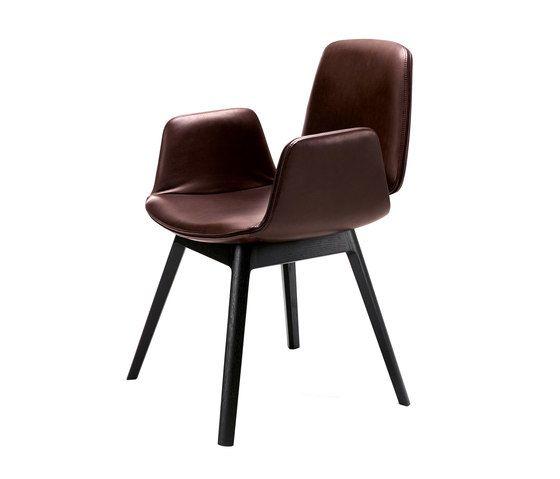 Freifrau Sitzmöbelmanufaktur,Office Chairs,brown,chair,furniture,wood