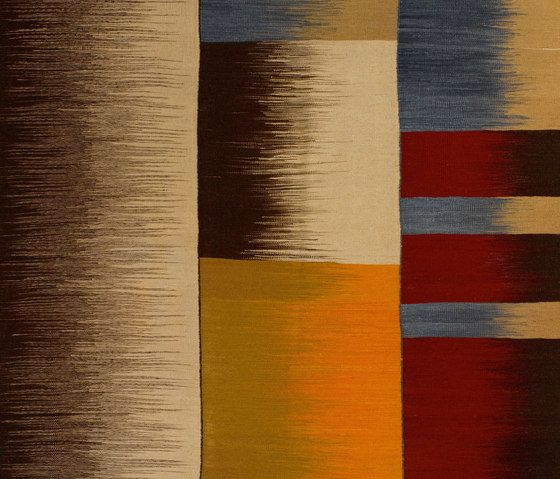 Atelier Pfister,Rugs,beige,brown,line,orange,pattern,tints and shades,yellow
