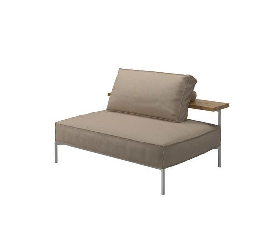 Gloster Furniture,Outdoor Furniture,beige,chair,chaise longue,couch,furniture,outdoor furniture,studio couch