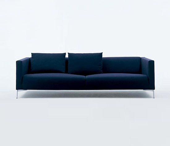 Living Divani,Sofas,blue,cobalt blue,couch,furniture,room,sofa bed,studio couch