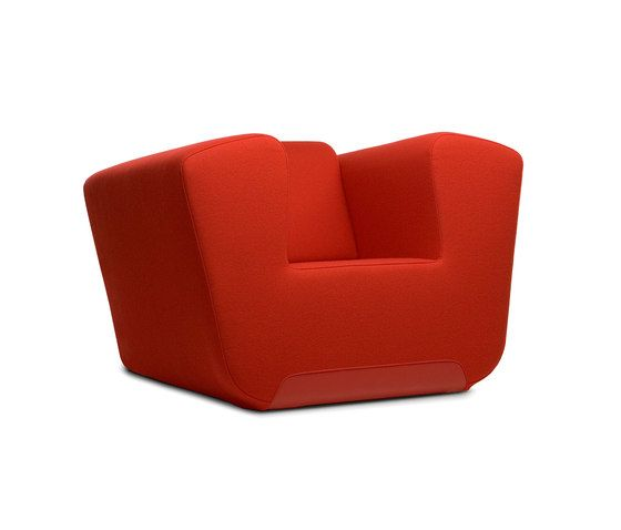 DUM,Lounge Chairs,chair,club chair,furniture,orange,red