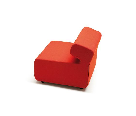 chair,furniture,orange,red