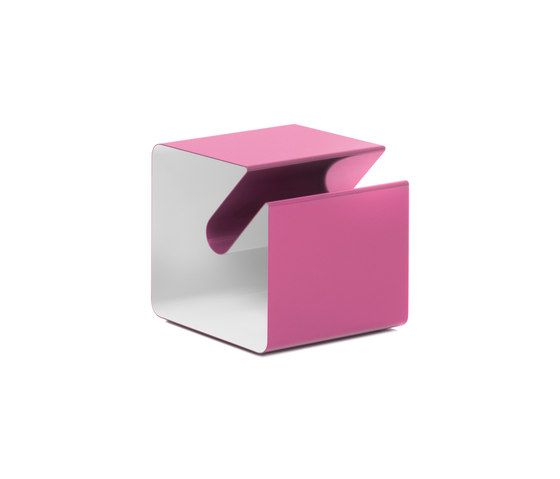 Müller Möbelfabrikation,Coffee & Side Tables,furniture,magenta,material property,pink,stool,table,violet