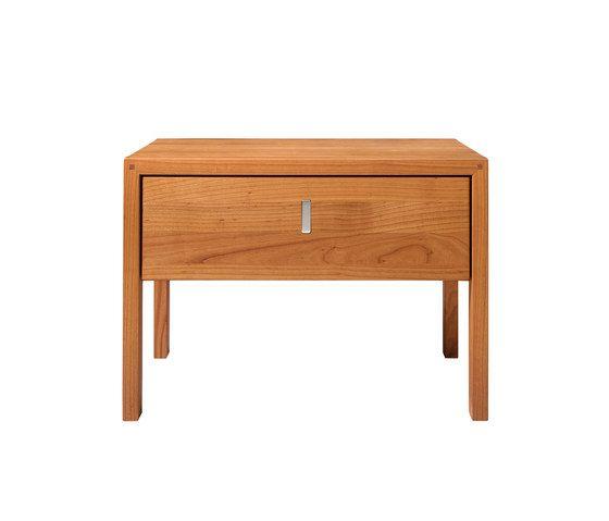 TEAM 7,Bedside Tables,desk,drawer,dresser,end table,furniture,nightstand,table,wood stain