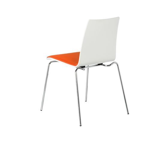 BRUNE,Dining Chairs,chair,furniture,orange