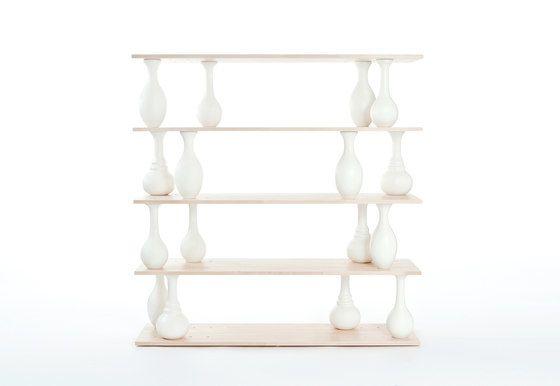 Covo,Bookcases & Shelves,furniture,shelf,shelving,table,white