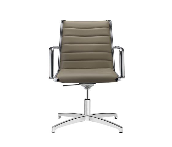 SitLand,Office Chairs,armrest,beige,chair,furniture,line,metal,office chair