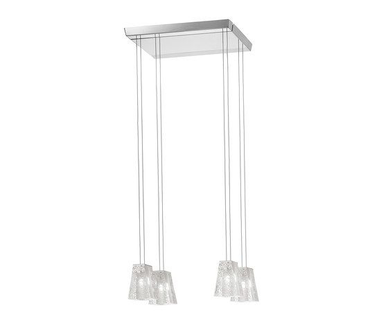 Fabbian,Pendant Lights,ceiling,glass,light fixture,rectangle