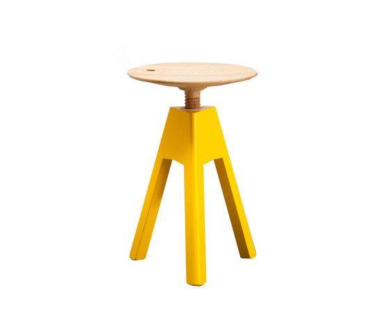 miniforms,Stools,bar stool,furniture,stool,table,yellow