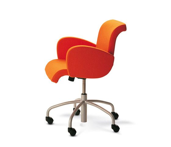 Lensvelt,Office Chairs,chair,furniture,office chair,orange