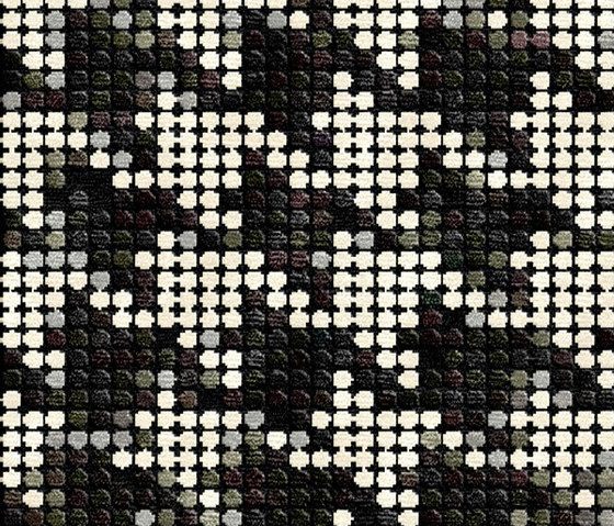 Illulian,Rugs,black-and-white,design,mesh,pattern