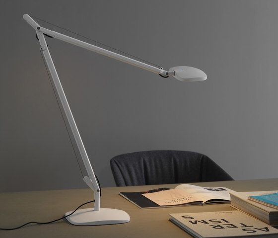 FontanaArte,Table Lamps,design,desk,furniture,lamp,light,light fixture,lighting,microphone stand