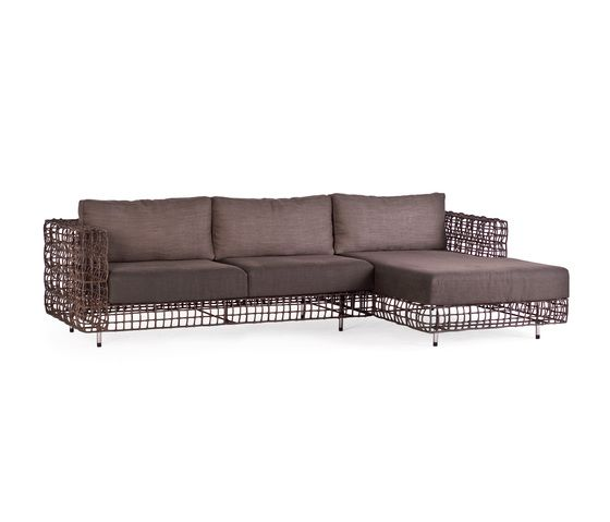 Kenneth Cobonpue,Sofas,brown,couch,furniture,outdoor sofa,sofa bed,studio couch