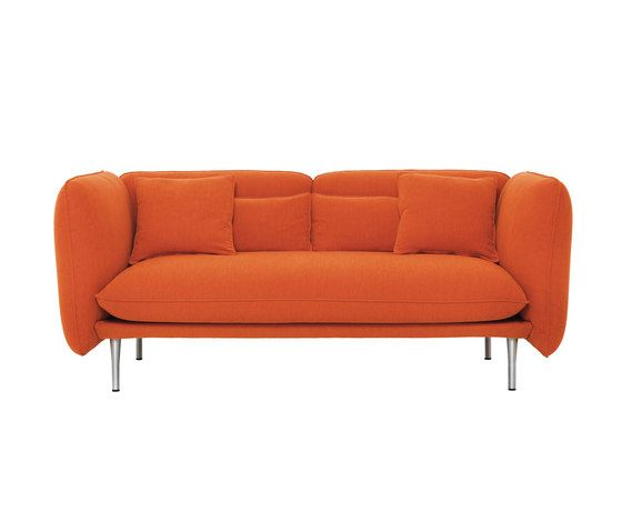 De Padova,Sofas,couch,furniture,leather,orange,sofa bed,studio couch