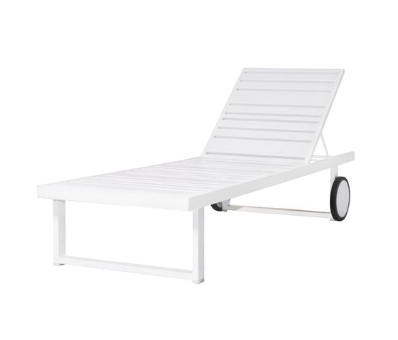 Mamagreen,Outdoor Furniture,chair,chaise longue,furniture,outdoor furniture,sunlounger,table,white