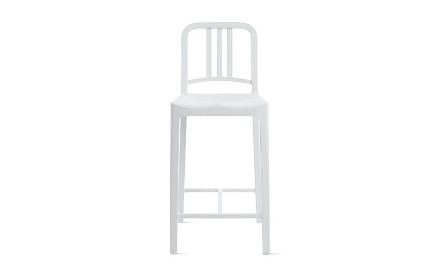 111 Navy Counter Stool by Emeco