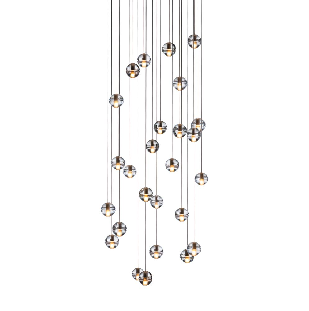 Clear, Xenon,Bocci,Chandeliers,ceiling,light fixture,lighting