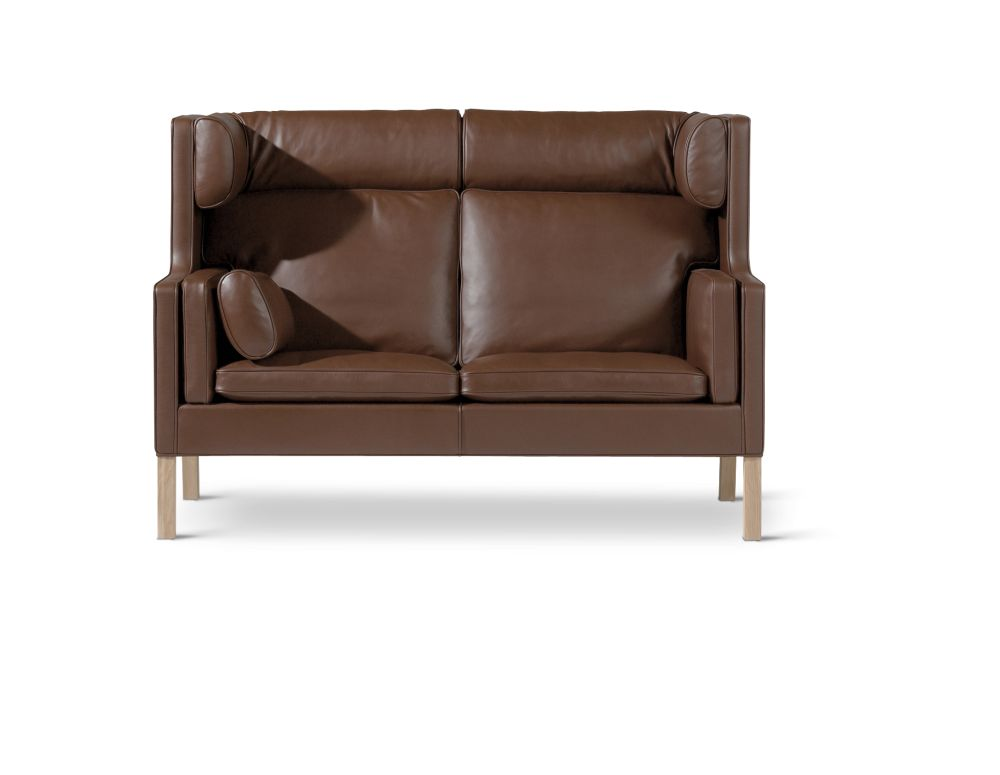 Oak soap treated, Nubuck 501 Light sand,Fredericia,Sofas,brown,chair,couch,furniture,leather,loveseat