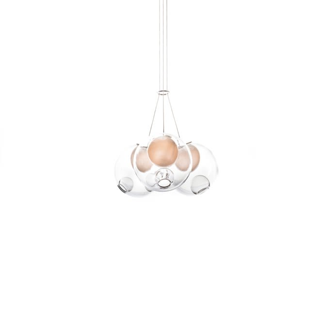 Xenon,Bocci,Chandeliers,ceiling,ceiling fixture,chandelier,lamp,light fixture,lighting,white