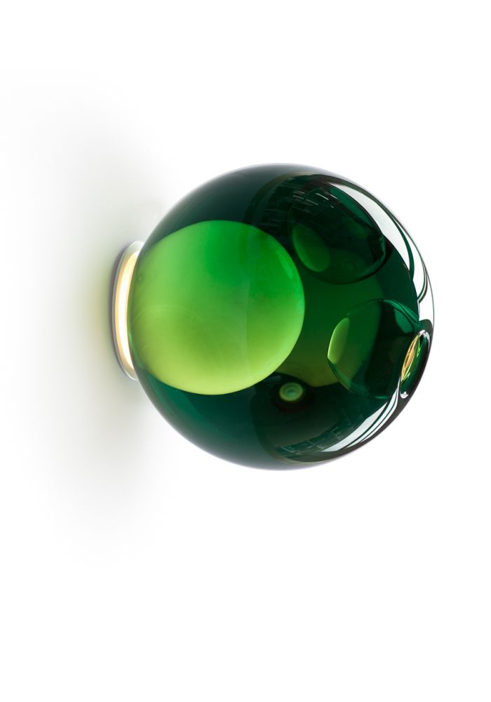 Mini Plate, Xenon,Bocci,Wall Lights,fashion accessory,glass,green,jade,sphere