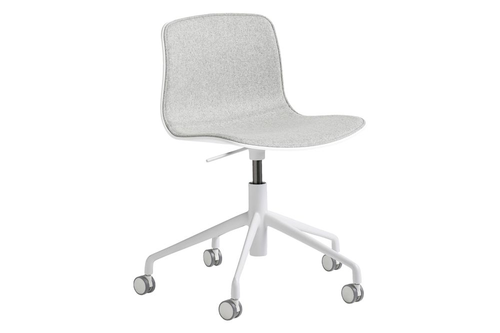 Fabric Group 6, Metal White, Plastic White,Hay,Office Chairs,chair,furniture,line,office chair,product
