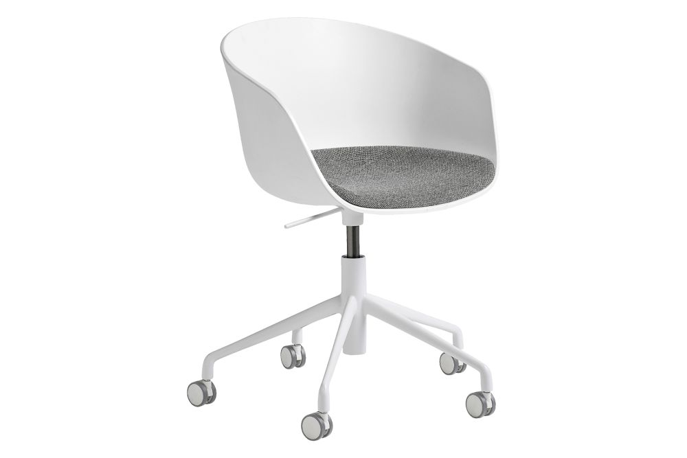 Fabric Group 5, Metal Polished Aluminium, Plastic Black,Hay,Office Chairs,chair,furniture,line,office chair,product,table