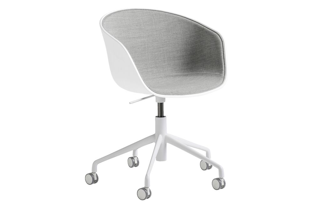 Fabric Group 6, Metal White, Plastic White,Hay,Office Chairs,chair,furniture,office chair,product