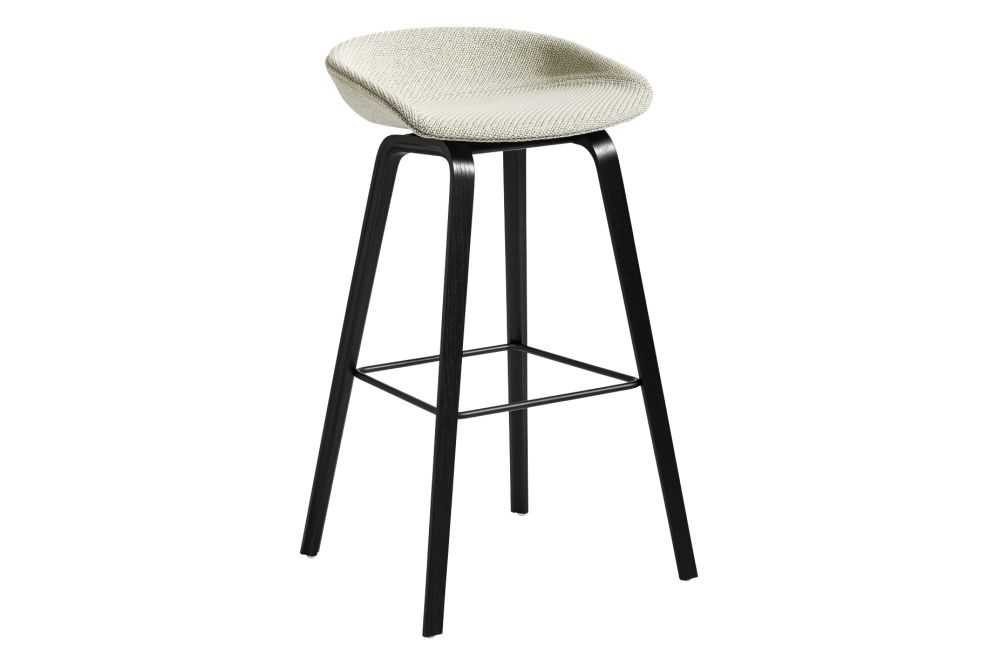 Fabric Group 1, Wood Soaped Oak, Metal Stainless Steel,Hay,Stools,bar stool,furniture,stool
