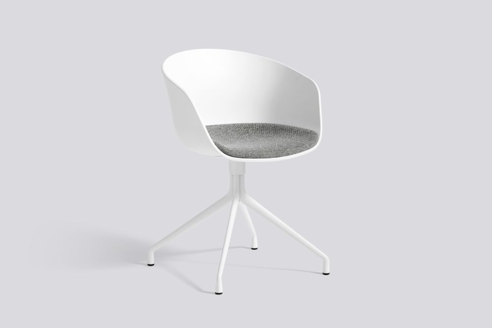 About A Chair AAC20 with fixed seat upholstery by Hay