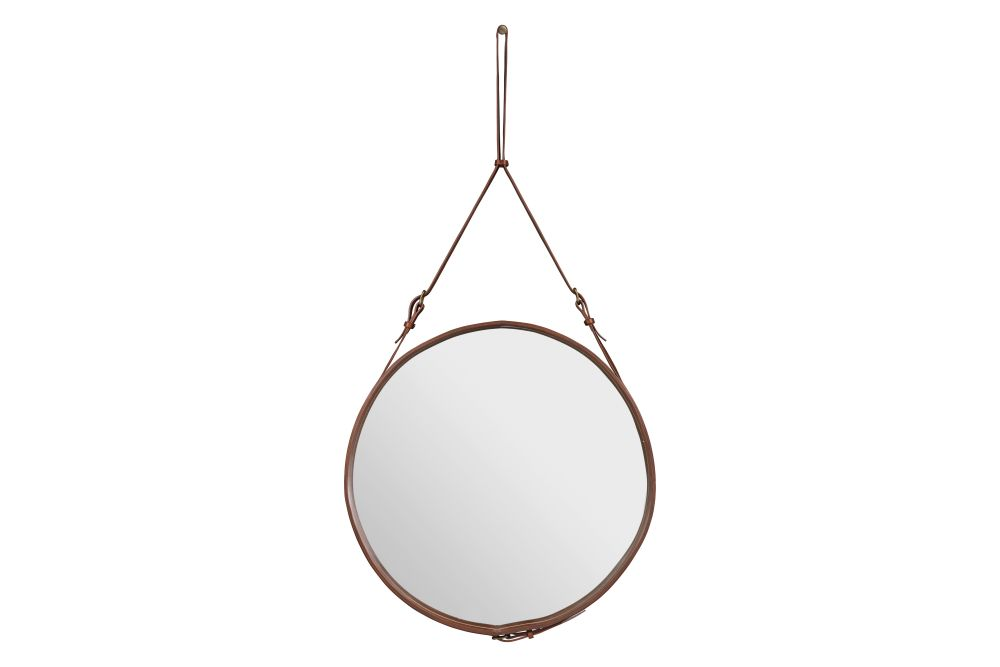 Tan Leather,GUBI,Mirrors,circle,copper