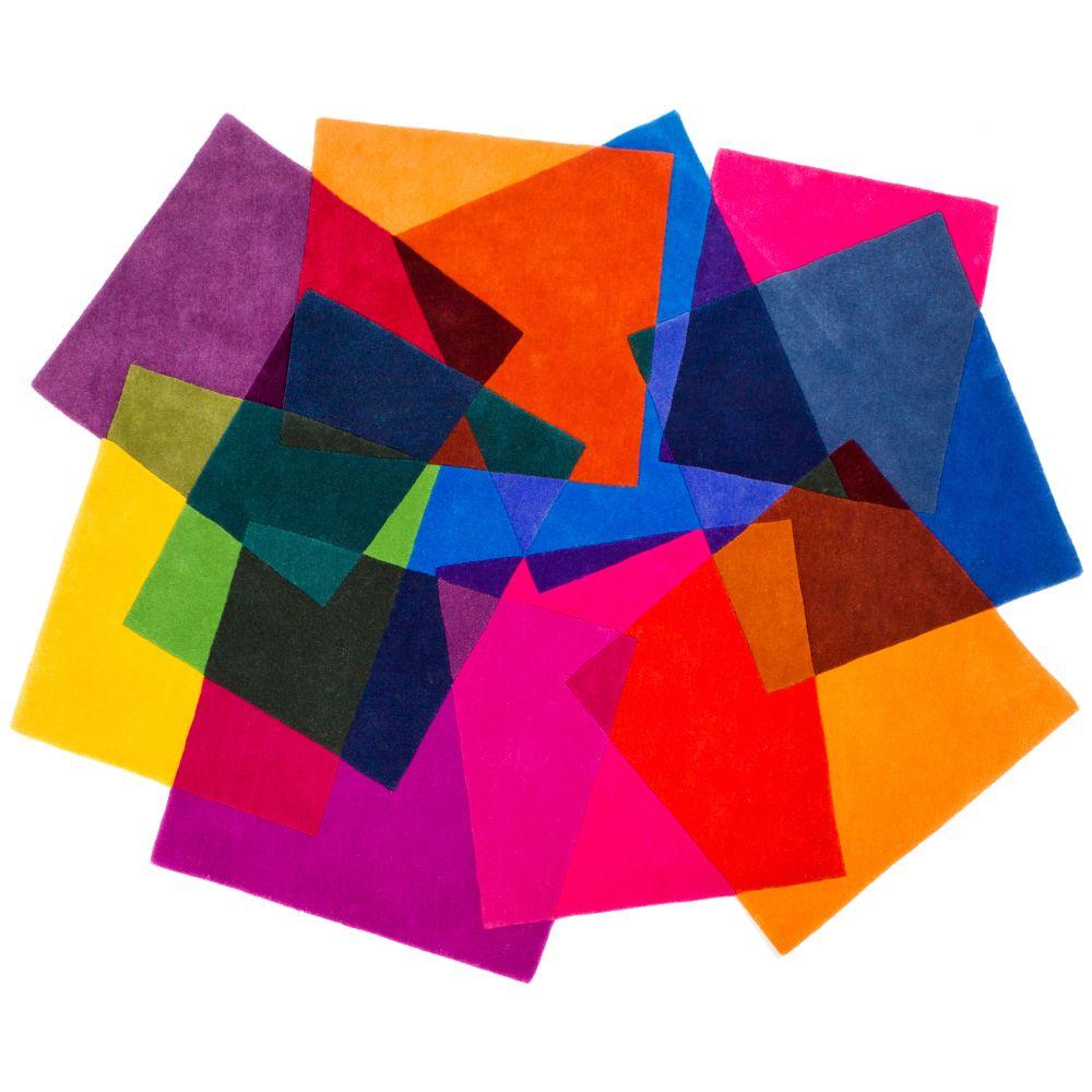 Multicoloured, Standard,Sonya Winner Studio,Rugs,construction paper