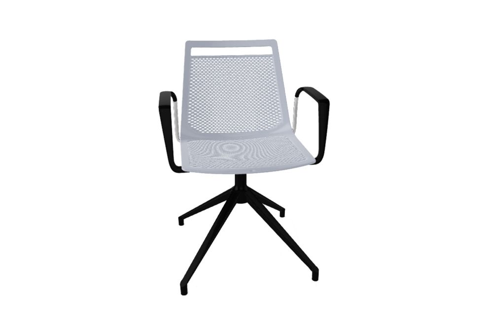00 White, White Aluminum,Gaber,Conference Chairs,chair,furniture,line,office chair